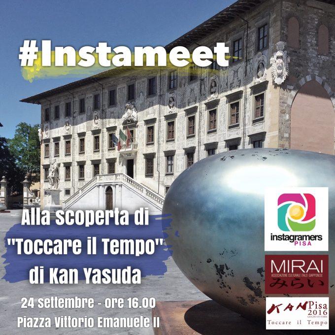 """Instameet con IgersPisa per """"Toccare il Tempo"""""""