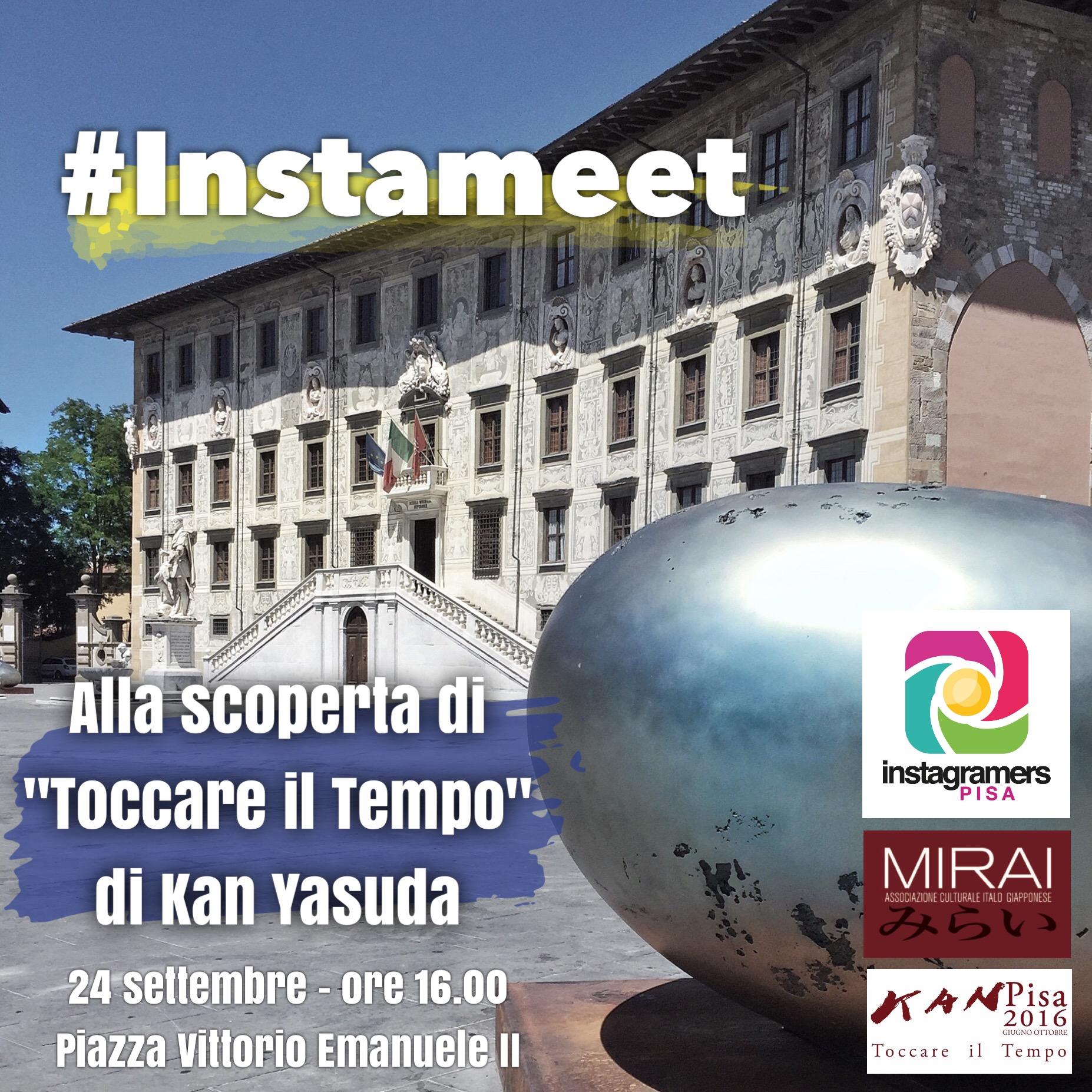 Instameet a Pisa per Toccare il Tempo