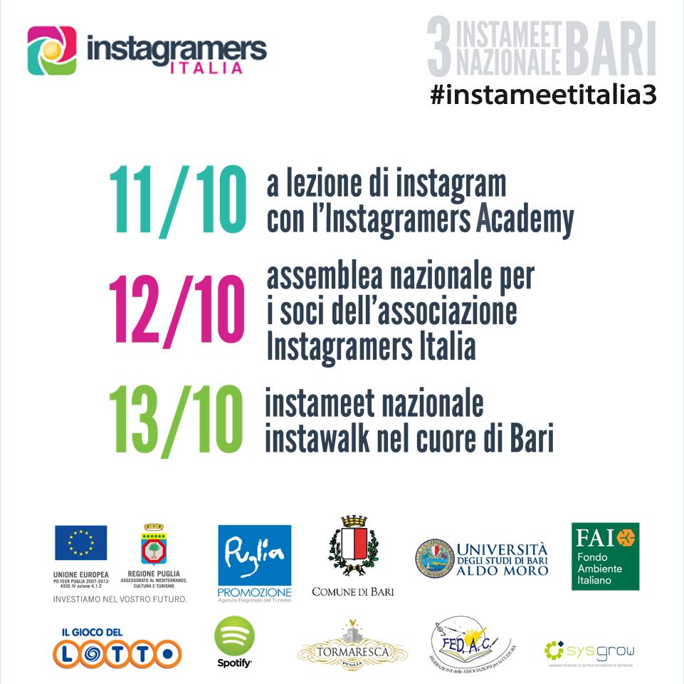 #instameetitalia3: il Primo Instameet del Mediterraneo!