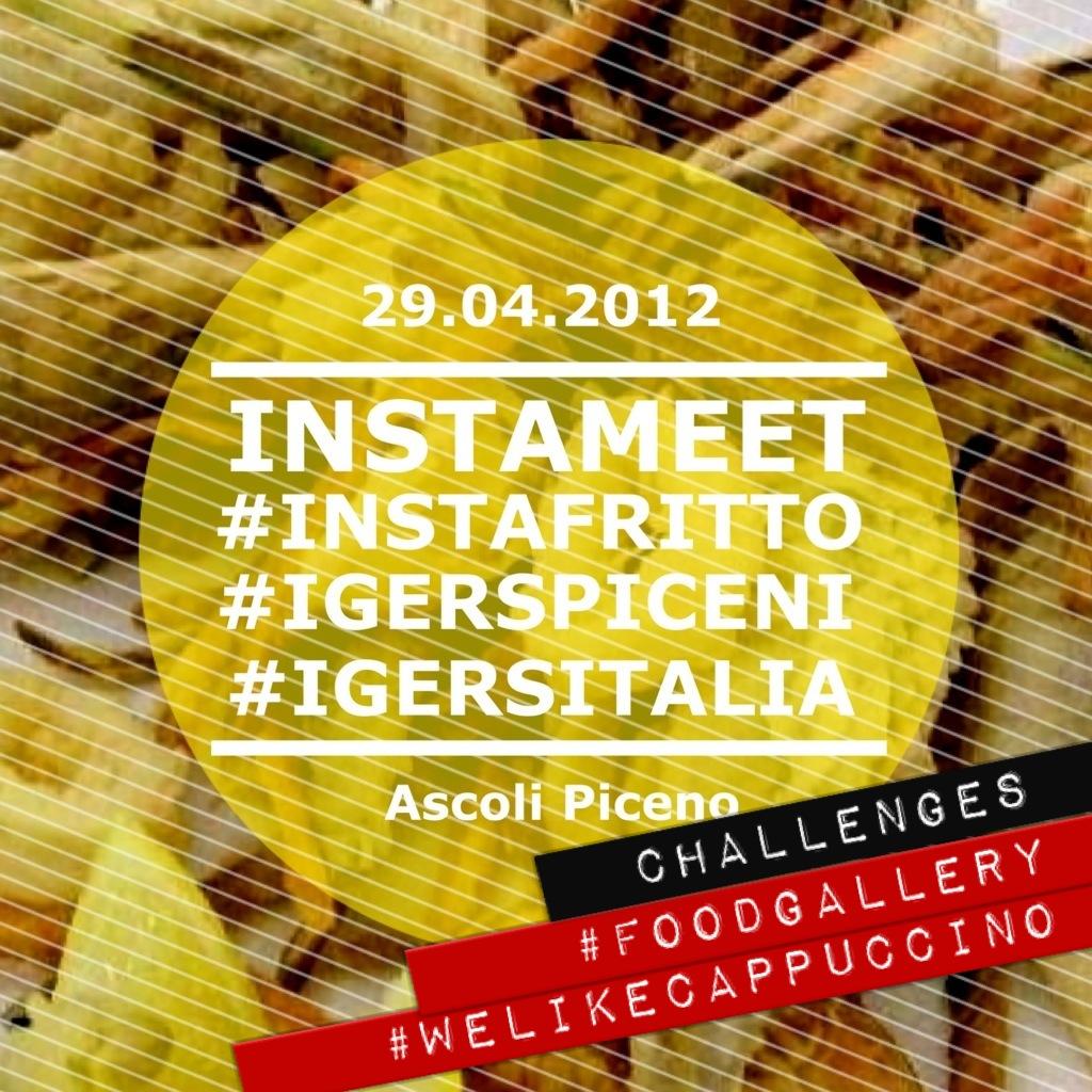 Instameet InstaFritto per il Fritto Misto 2012 ad Ascoli Piceno