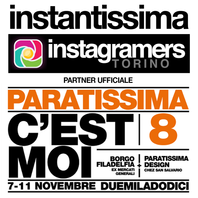 Instagramers Torino partner di Paratissima!