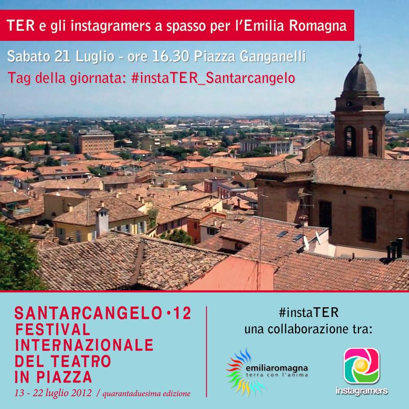 """""""TER e gli Igers a spasso per l'Emilia Romagna"""" – Uscita a Santarcangelo di Romagna"""