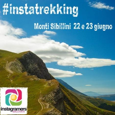 Il primo instatrekking tra i Monti Sibillini