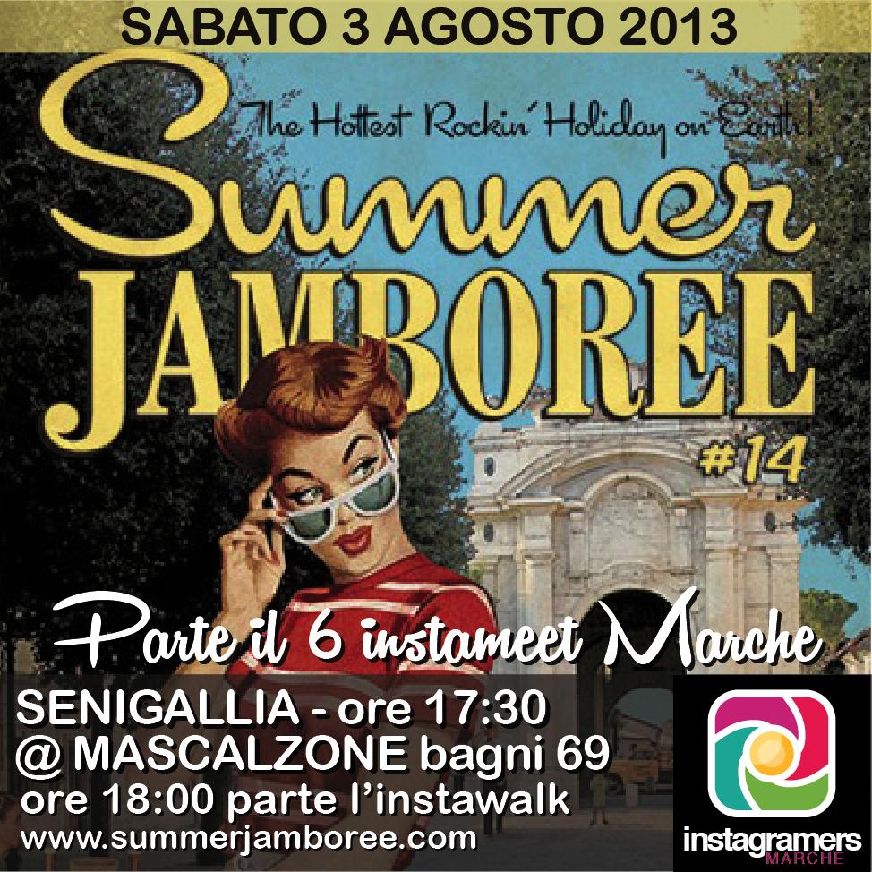 Summer Jamboree, il 6^ incontro Instagramers Marche