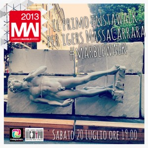 instawalk massa carrara