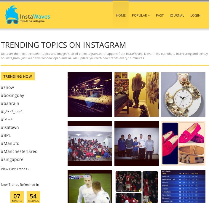 InstaWaves: i trending topic di Instagram