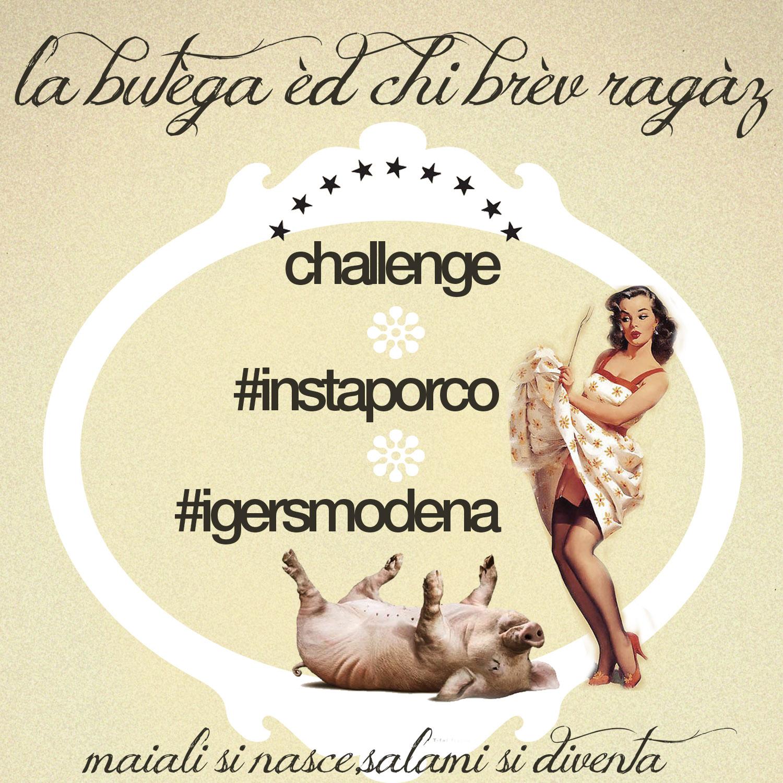 challenge instaporco igersmodena
