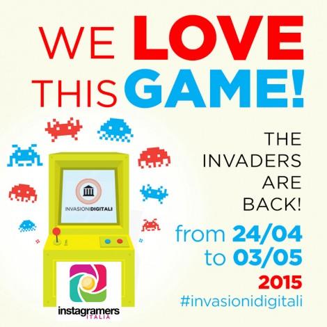 Instagramers Italia a fianco di Invasioni Digitali
