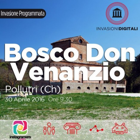 Invasione Digitale Bosco Don Venanzio con igersChieti