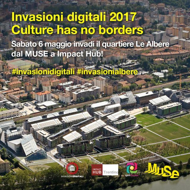 Invasione Digitale del quartiere Le Albere, dal MUSE a Impact Hub!