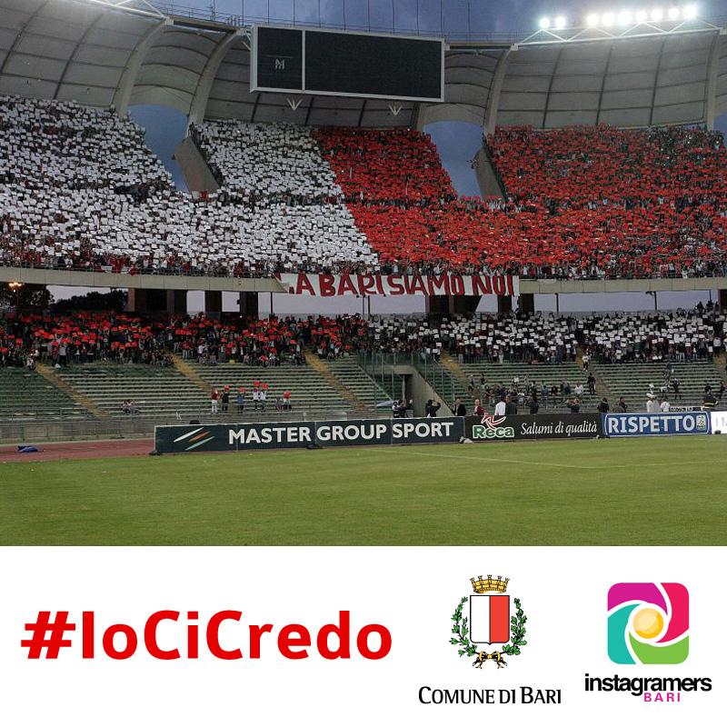#IoCiCredo: racconta l'euforia per la squadra del Bari