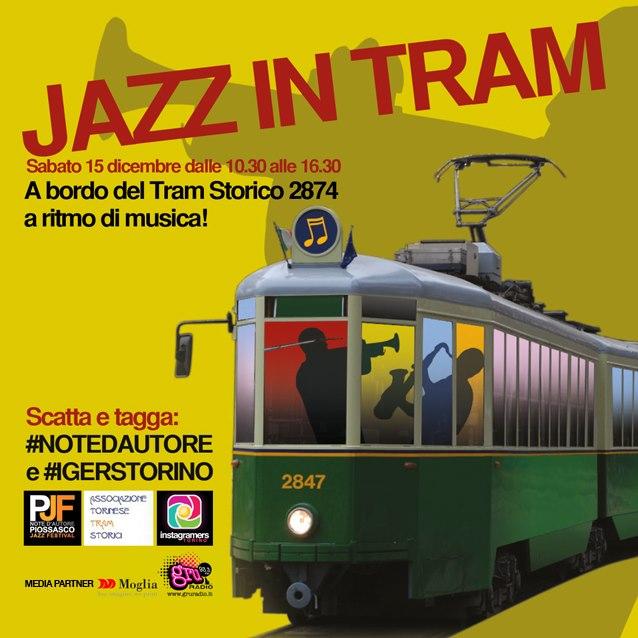 jazz in tram a torino su instagram