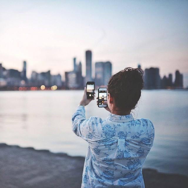 Risultati immagini per fotografare instagram