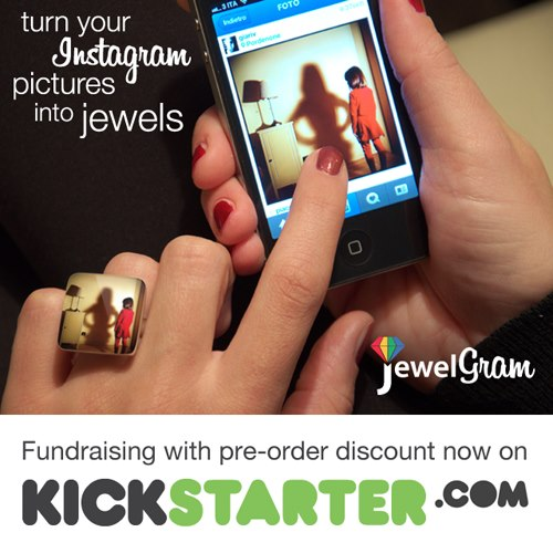 Igersitalia supporta una startup italiana: JewelGram su Kickstarter!