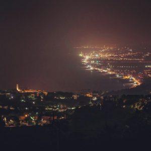 larsenio panorama notturno