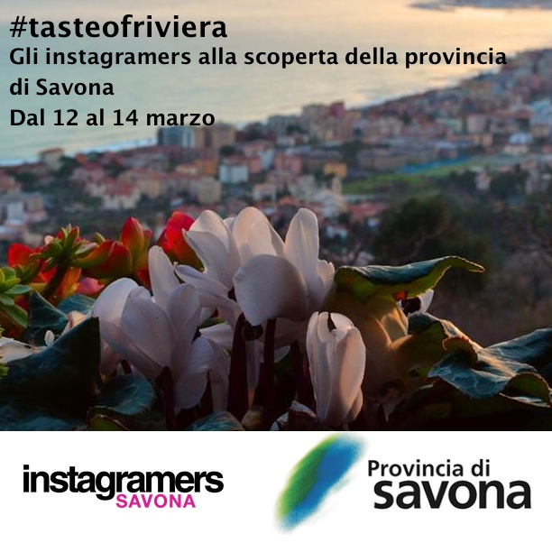 #tasteofriviera: Instameet e Instatour nella Provincia Savonese