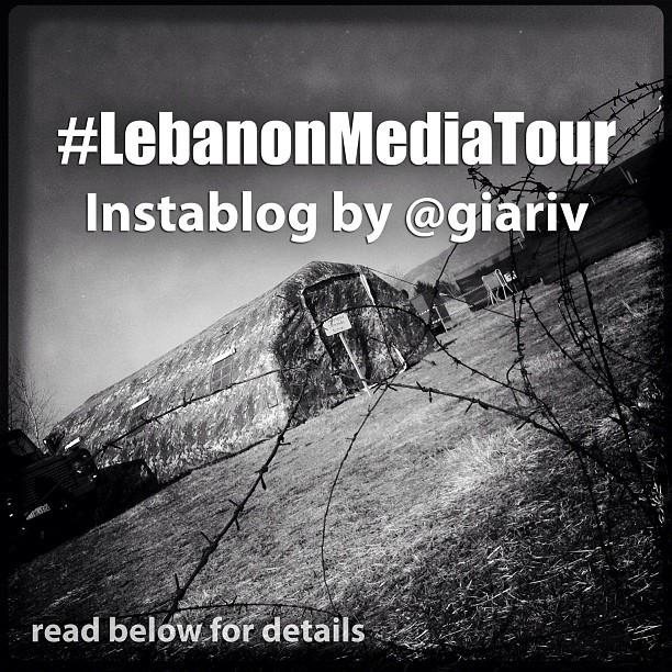 Il Lebanon Media Tour di Gianpiero Riva