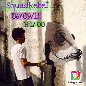 Squad Rebel. Instawalk al Razionale di Lamezia Terme