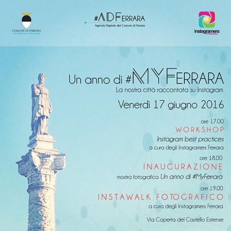 #MyFerrara, storytelling di una città