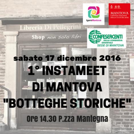 Instameet alla scoperta delle botteghe storiche di Mantova