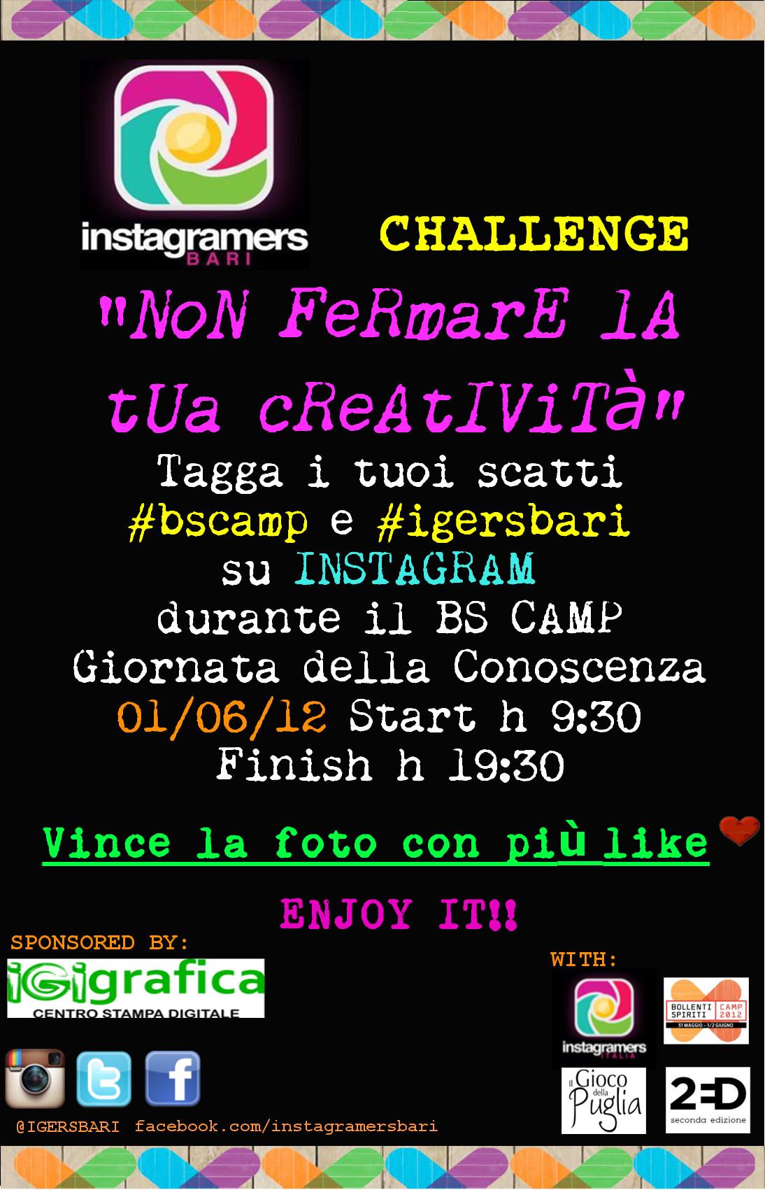 Bollenti Spiriti Camp per il futuro della Puglia con Instagramers Bari