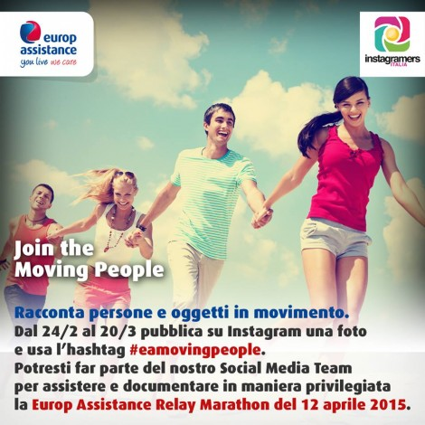 Eamovingpeople: documentare il movimento