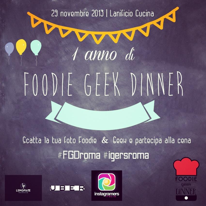 FoodGeekDinner Roma