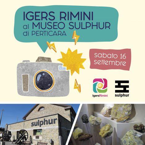 Igers Rimini al Museo Sulphur di Perticara