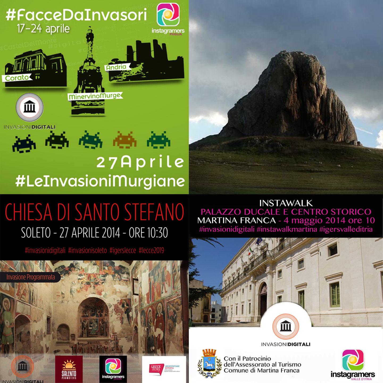 Invasioni Digitali 2014: le iniziative in Puglia