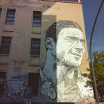 Roma, murale di Lucamaleonte, ph. @lollobob31