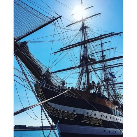 A bordo dell'Amerigo Vespucci con Instagramers Bari