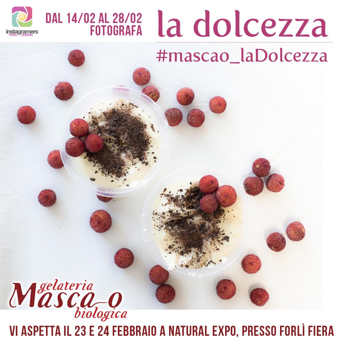 Fotografa la dolcezza a Natural Expo con igersFC e Masca-o