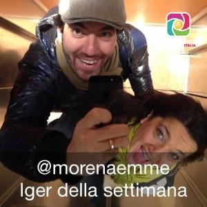 @morenaemme in compagnia di @oraziospoto