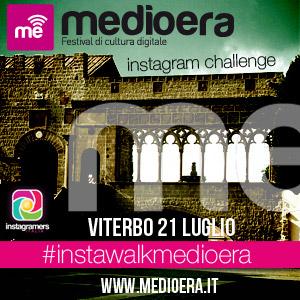 Instawalk e challenge @igersViterbo durante Medioera