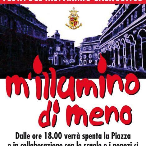 Fermo s'illumina di meno: challenge fotografico e festa in Piazza del Popolo sul risparmio energetico