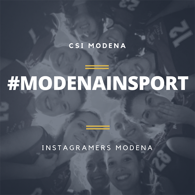 #ModenaInSport: CSI Modena e Instagramers Modena per lo sport