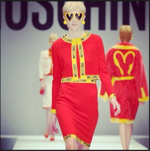 Sfilata di Moschino alla Milan Fashion Week