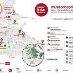 La piantina con i luoghi degli eventi e delle attività del #museofotofestival