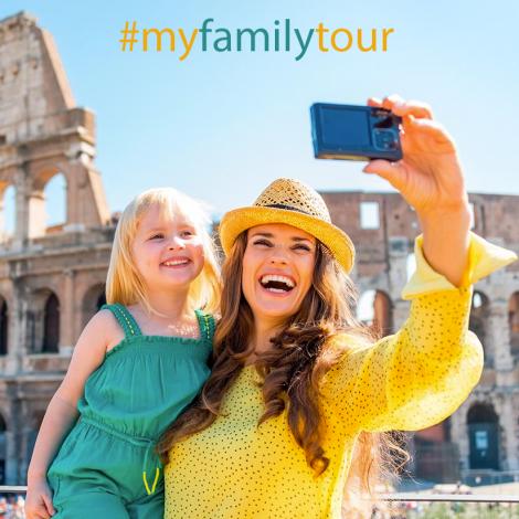 #myfamilytour – La sfida fotografica dell'estate