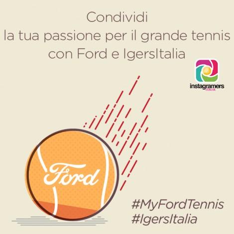 #MyFordTennis: scatta e condividi la tua passione per il tennis
