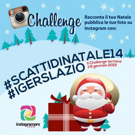 Scatti di Natale nel Lazio con Instagram