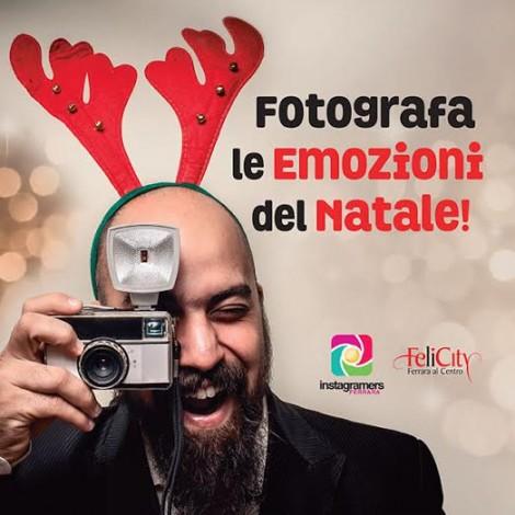 Natale è emozione con Instagramers Ferrara