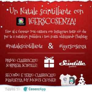 Natale Instagarm Igers Cosenza