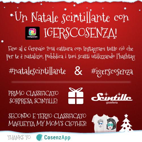 """Un """"Natale Scintillante"""" con Igers Cosenza!"""