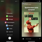 Netflix per iOS permette agli utenti di condividere film e programmi TV nelle loro storie Instagram