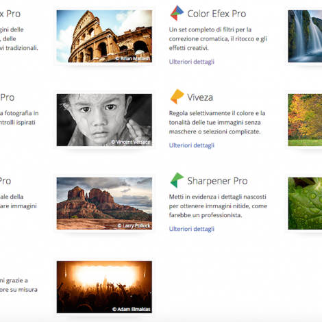 Editing e post produzione semplici e low-cost: Google regala Nik Collection 7 programmi di fotografia