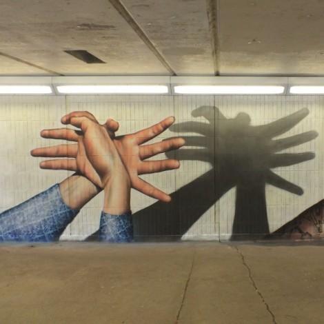 Iperrealismo e street art: l'arte di @rogueonegraffiti