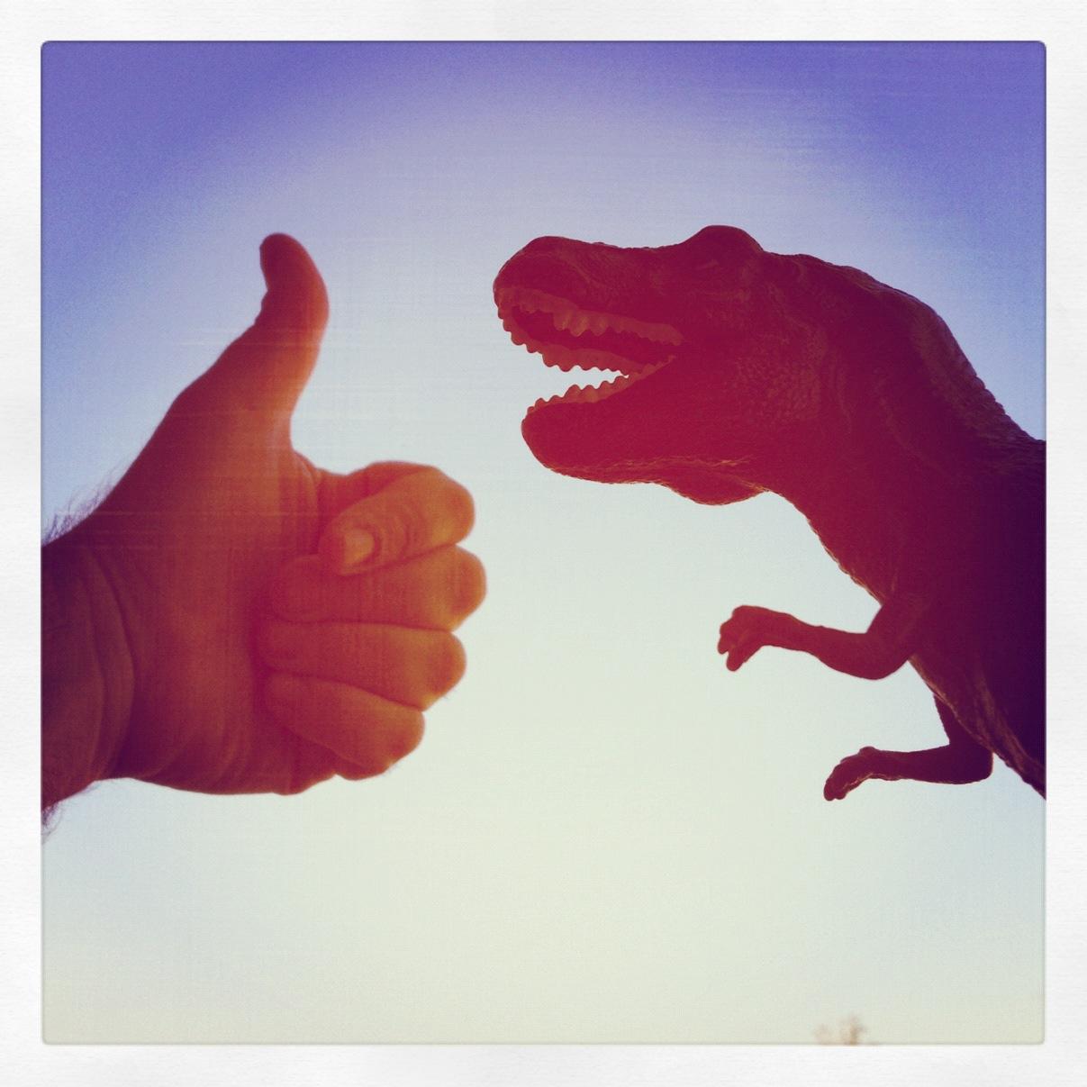 T-Rex Adventures di @osnuflaz // Iger della settimana