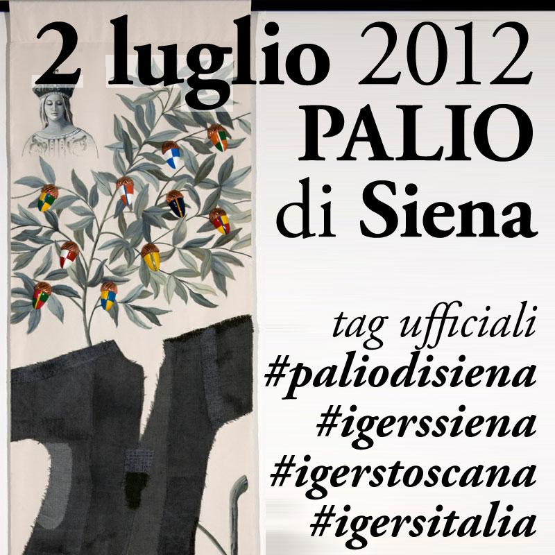 IgersItalia il 2 luglio è al Palio di Siena con IgersSiena