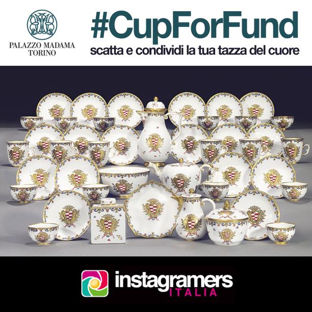#CupForFund Palazzo Madama Torino, Instagramers per il crowdfunding